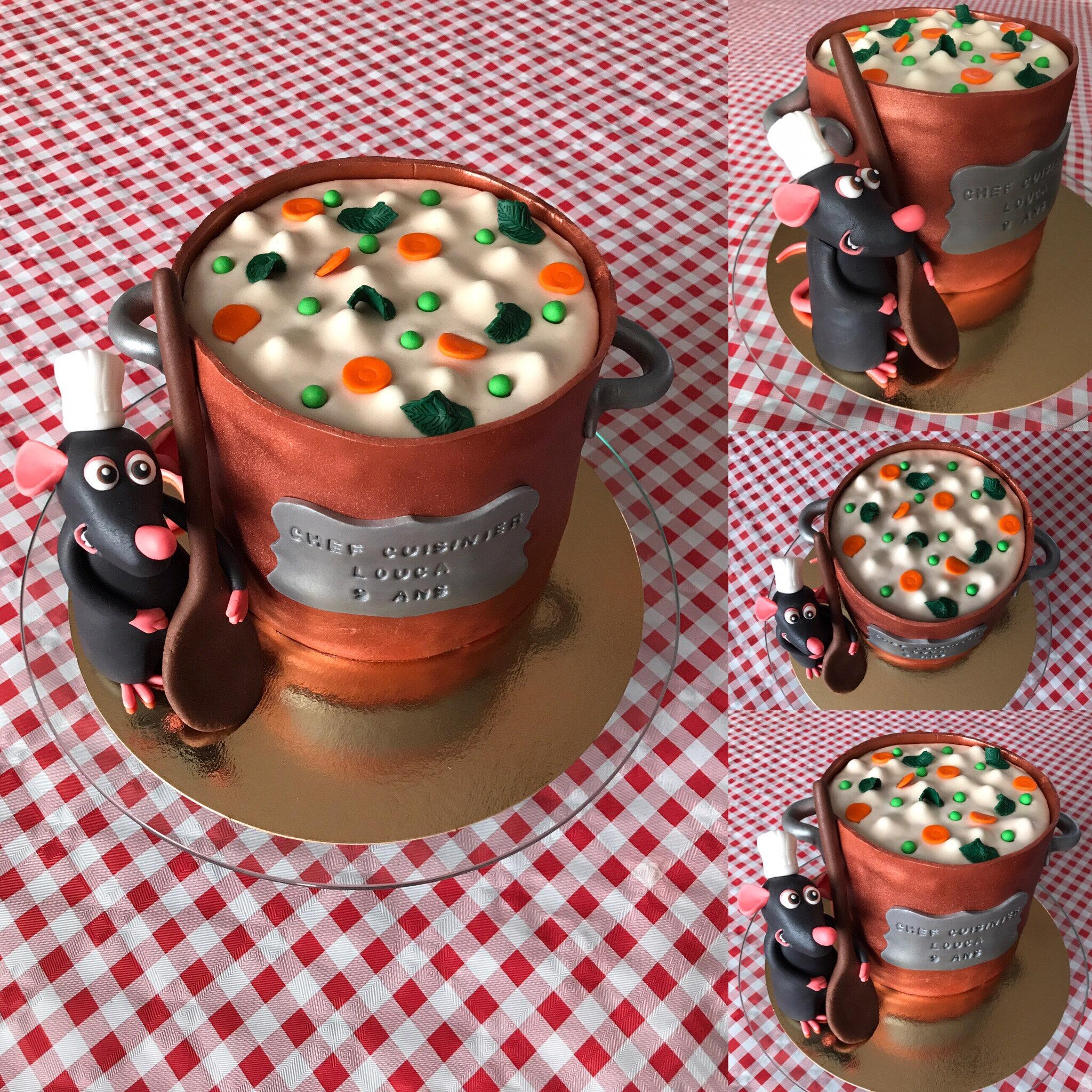 Gâteau pour petit cuisto