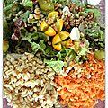 Salade fraicheur du potager
