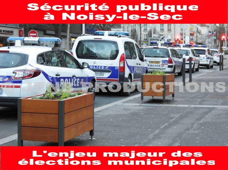 Police nationale et police municipale à Noisy-le-Sec © JENB Productions (1b)