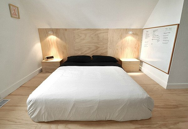 Plancher-contreplaque-chambre-coucher