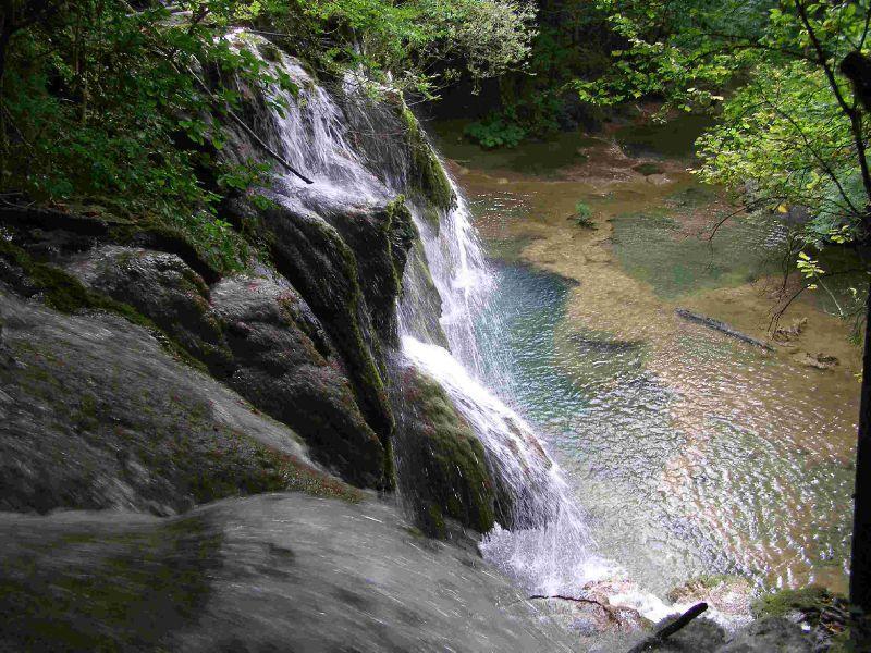 Cascade des Tufs Les Planches Jura