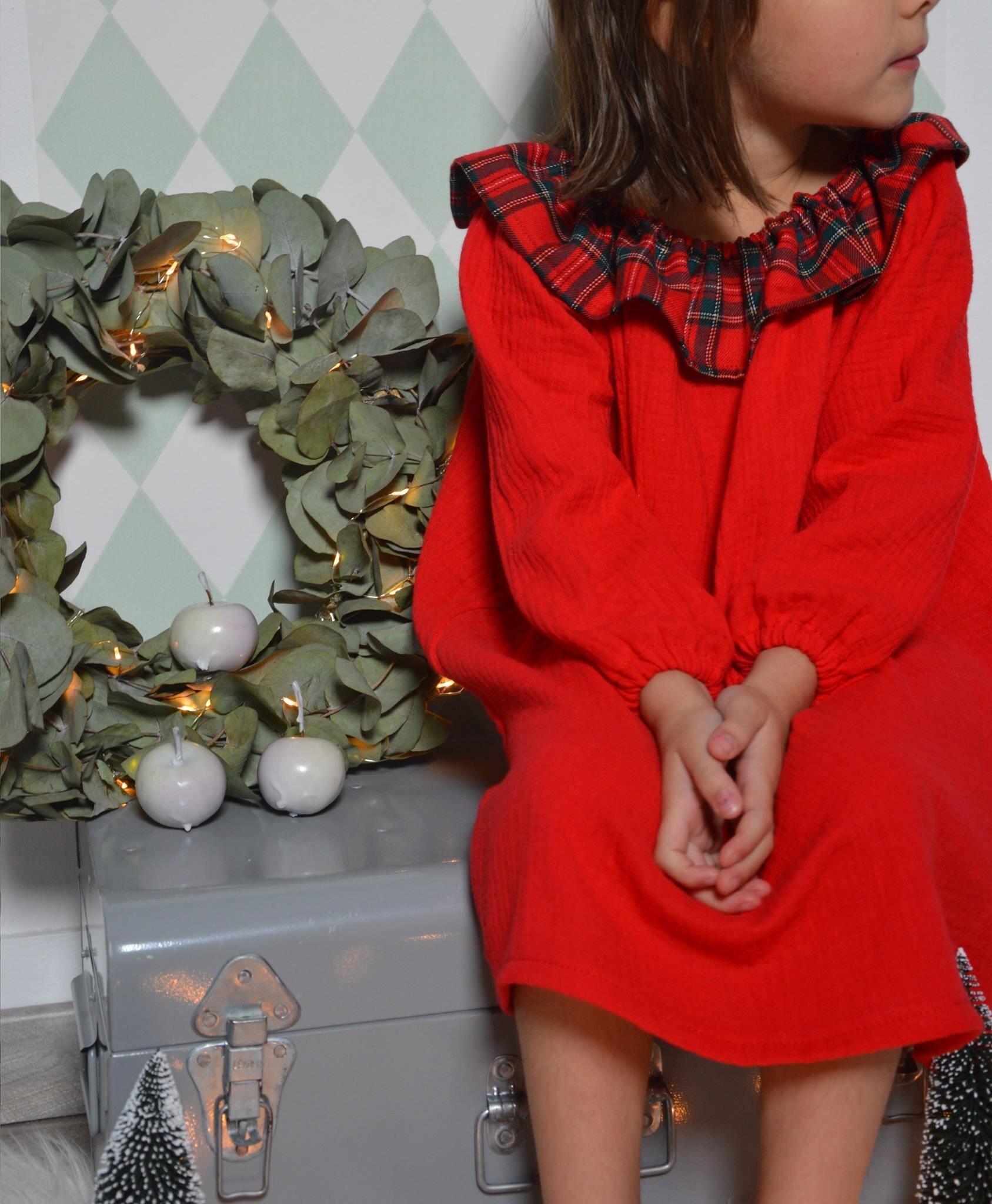 Les jolies robes de nuit de Noël by L'Armoire Rose