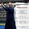 Stage avec philippe cocconi