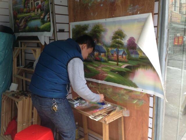 Dafen artiste