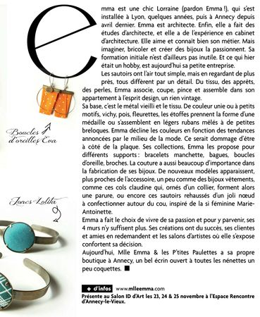 ACTIVES MAG septembre 2012 zoom
