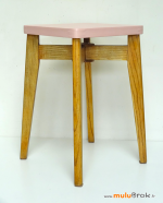 TABOURET-bois-ROSE-RUBAN-5-muluBrok-Vintage