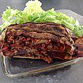 Lasagne végétarienne à la proteine de soja