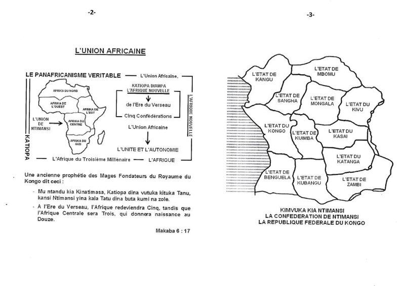 L'INJURE RACISTE DE L'OCCIDENT A LA RACE BANTU DE L'AFRIQUE CENTRALE b