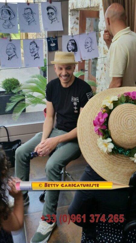 caricaturiste mariage anniversaire enfants garde animation dj lorraine alsace
