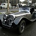 Jaguar ss100 3 1/2 litre roadster, 1936 à 1940