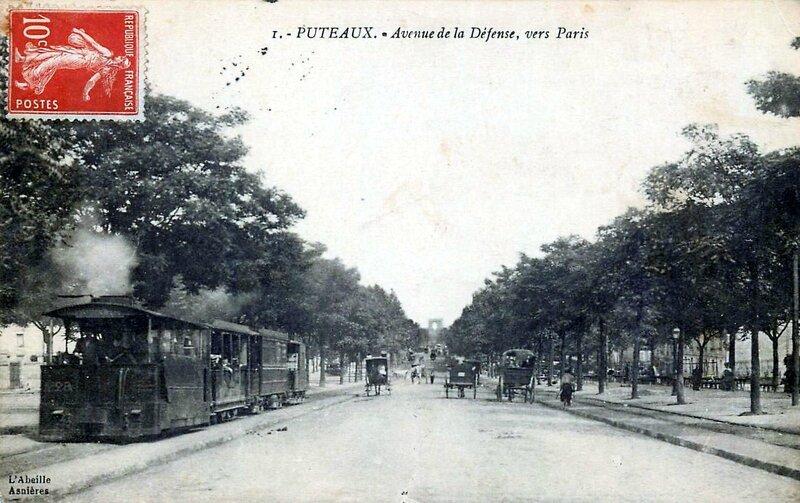 1910-05-31 Léon Dumas d'Epenède - Puteaux-octroi-avenue-de-la-defense-circulee-1914
