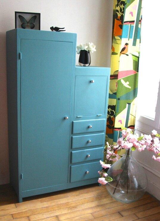 armoire-décalée-vintage