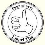 badge soutien Lionel Tim