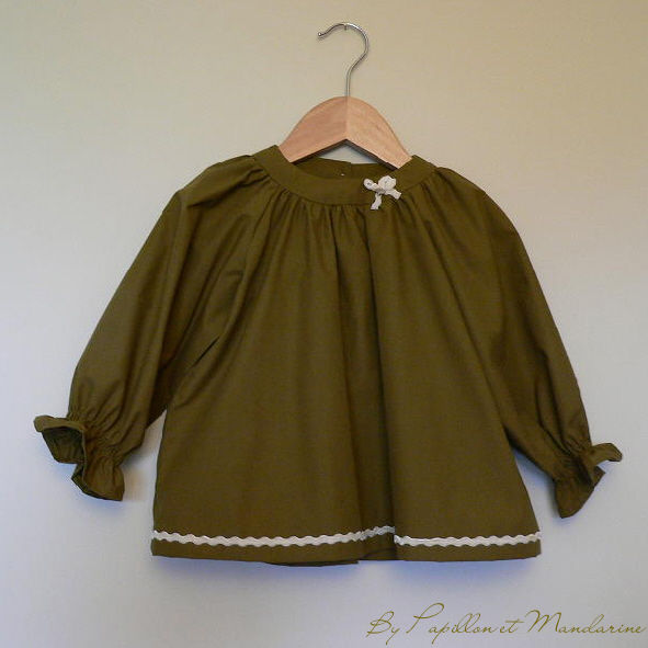 Blouse bronze