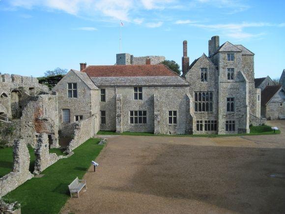 Carisbrook Castle (Isle of Wight) - La demeure des seigneurs