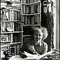 Henri meschonnic (1932 – 2009) : « des cheveux tremblent sur des pierres ... »