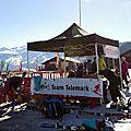 Photos de la compet championnat de france à samoëns + initiation à samoëns le 8/4