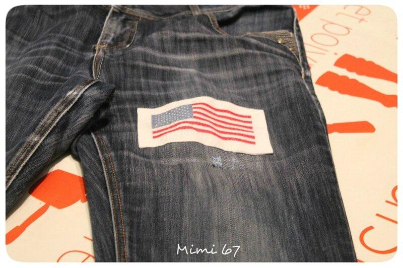 Mimi 67 Drapeau américain Finition