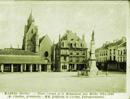 Le 27 novembre 1789 à Mamers : construction d'un corps de garde.