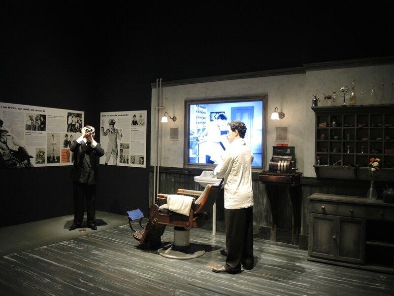 Corsier-sur-Vevey, Chaplin's world, le Studio, le barbier (Suisse)