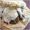 Sandwich falafels comme à la rue des rosiers à paris