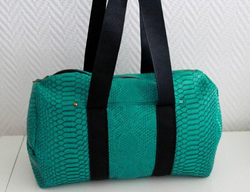 Sac vert sportswear3