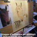 Stage d'initiation au portrait, les 3 et 4 juillet 2014 - camphin en carembault (59)