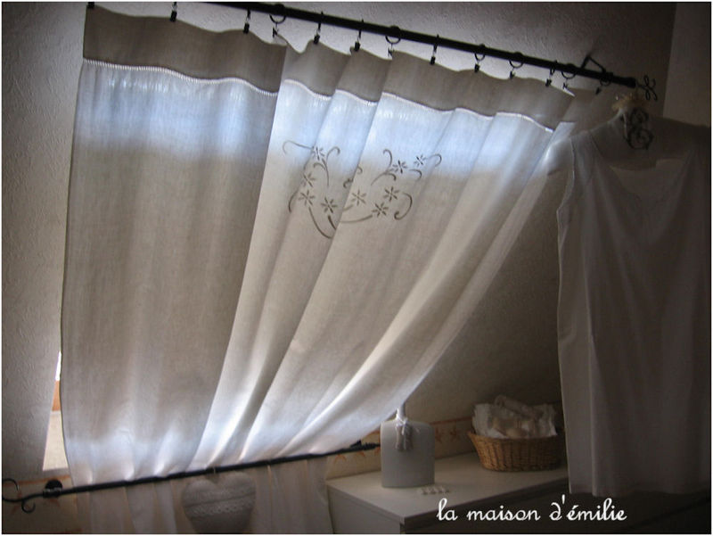 tringles rideaux velux. Black Bedroom Furniture Sets. Home Design Ideas