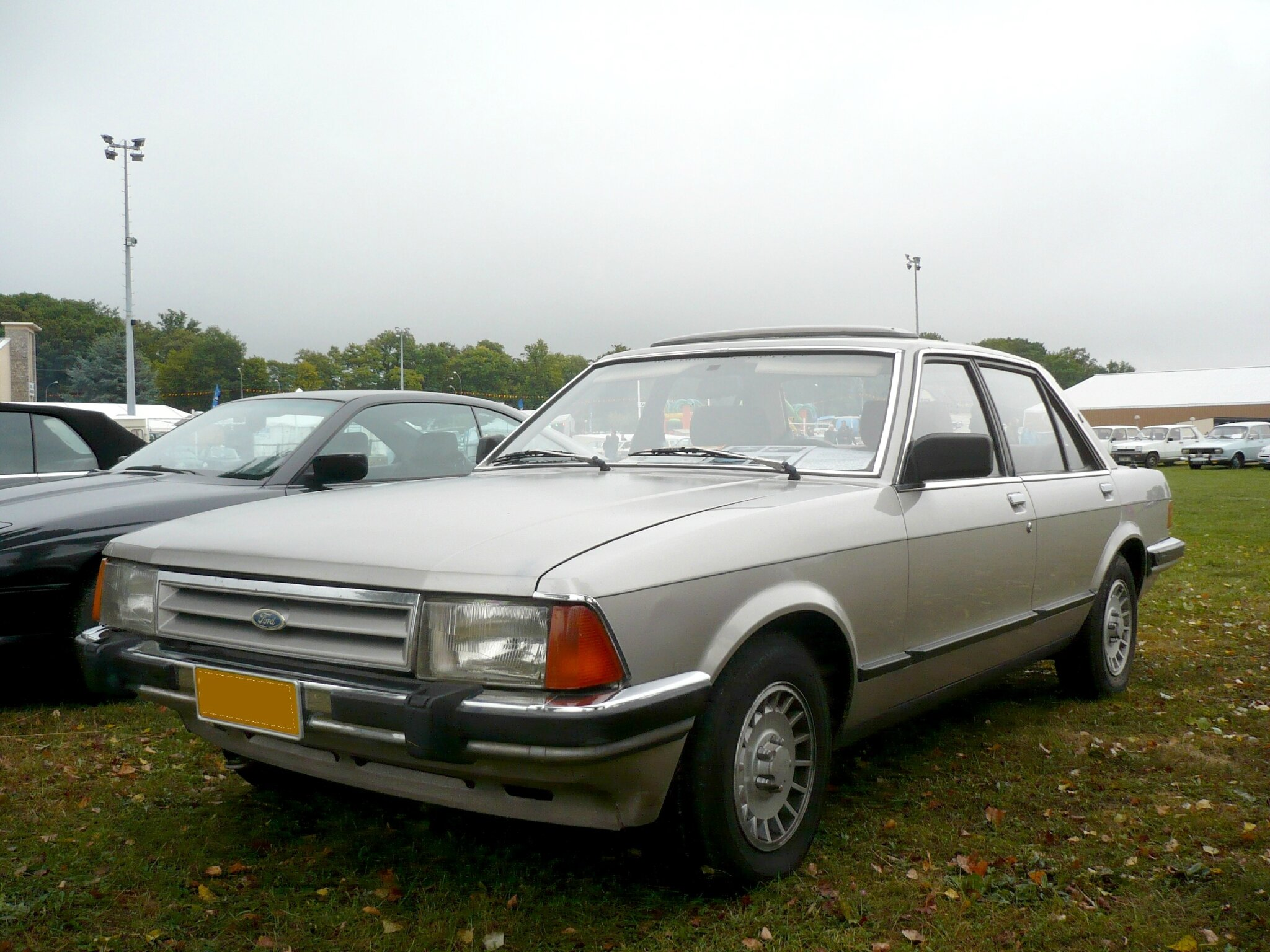 FORD Granada 2.5D Mk2 berline 4 portes 1985 Créhange (1)
