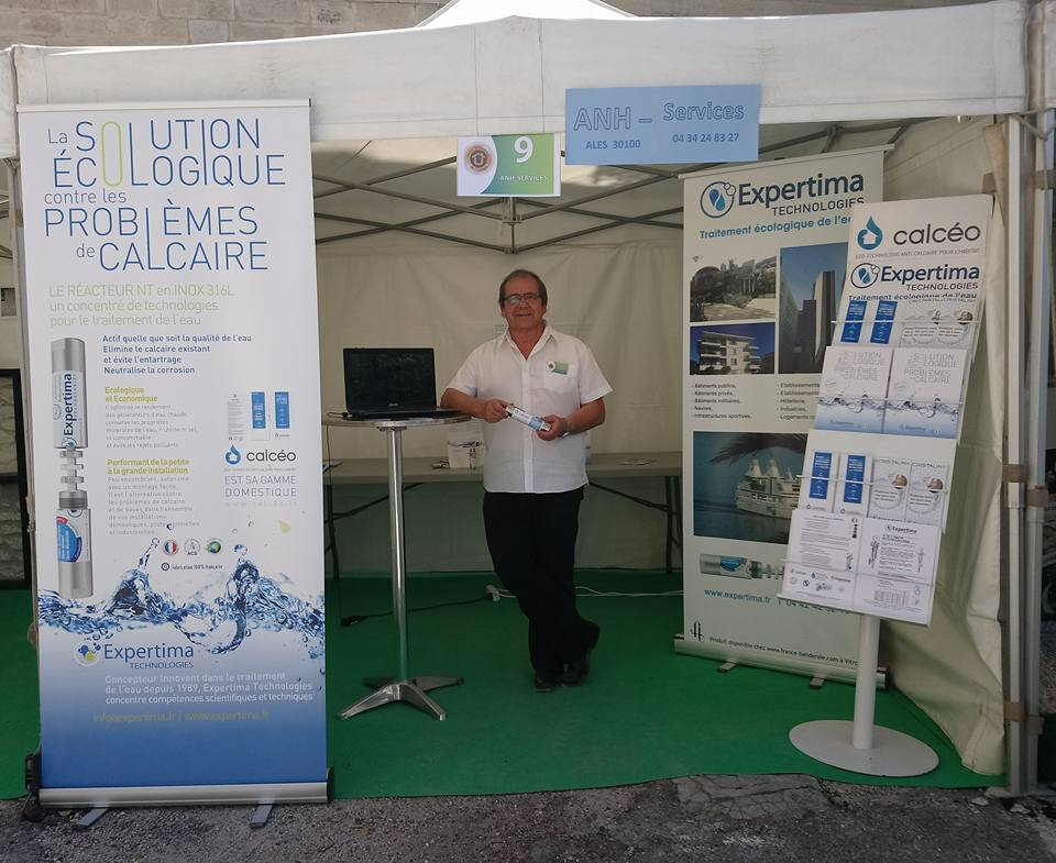 stand Calcéo / Expertima Technologies, ANH-Services