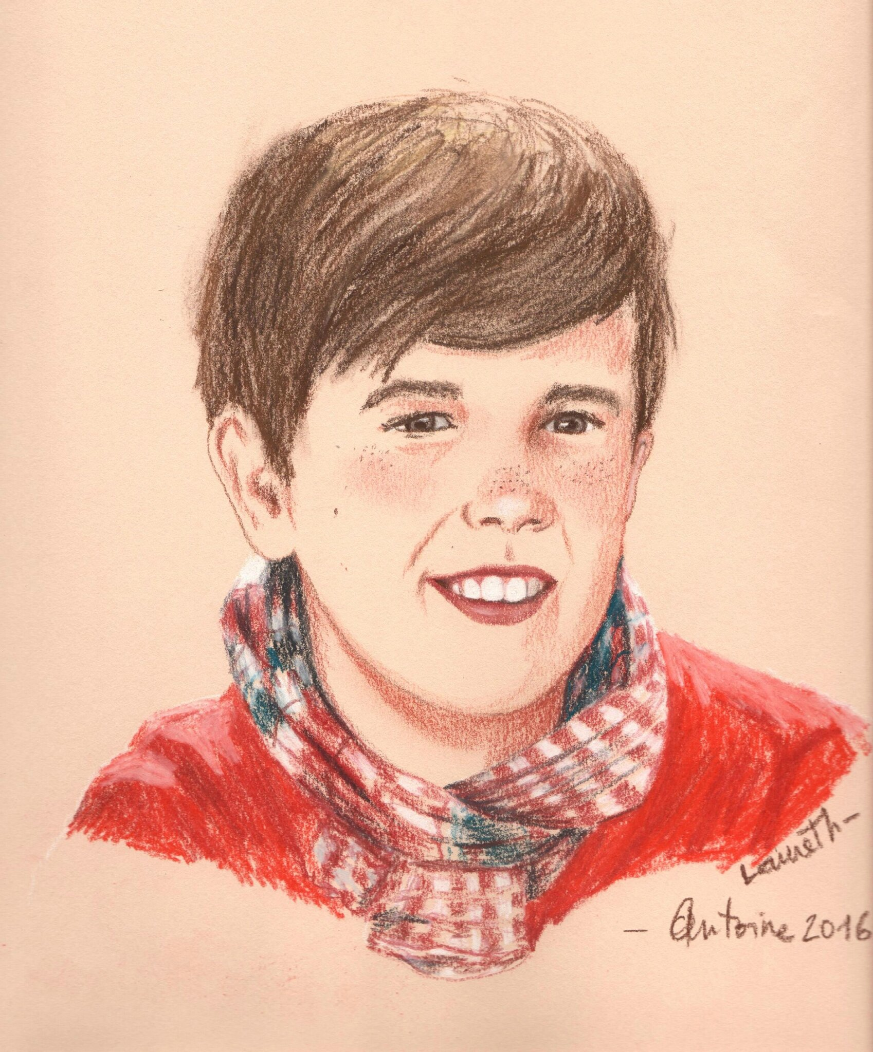 portrait Antoine couleur