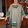 Boubou , tissu du Cameroun