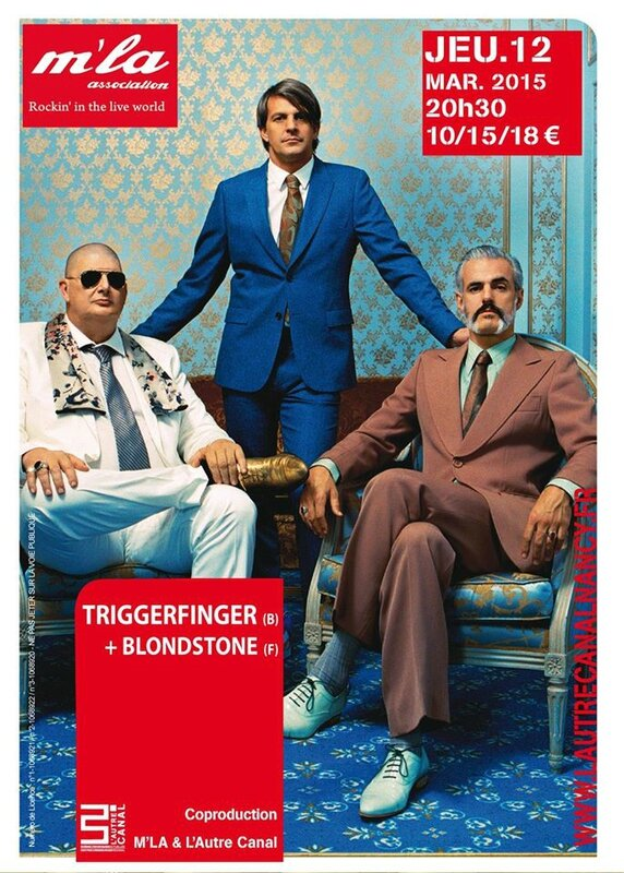 #TRIGGERFINGER #BLONDSTONE #LAUTRECANAL #ASSOCIATIONMLA #NANCY