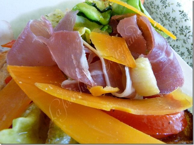 Tartine légumes grillés (5)