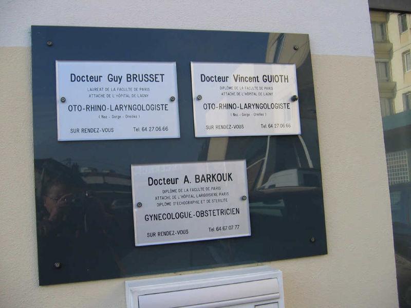 alentour du mail de l'Ourq cabinet médical