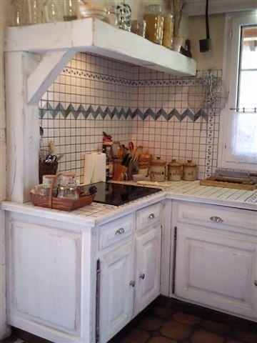 cuisine repeinte blanc us gris de su de chinons et kolorons. Black Bedroom Furniture Sets. Home Design Ideas