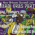 Patchworld special new orleans mardi gras!! + party on 15/02/2013