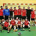 Handball : les séniors masculins 2 du crahb, champions régional honneur