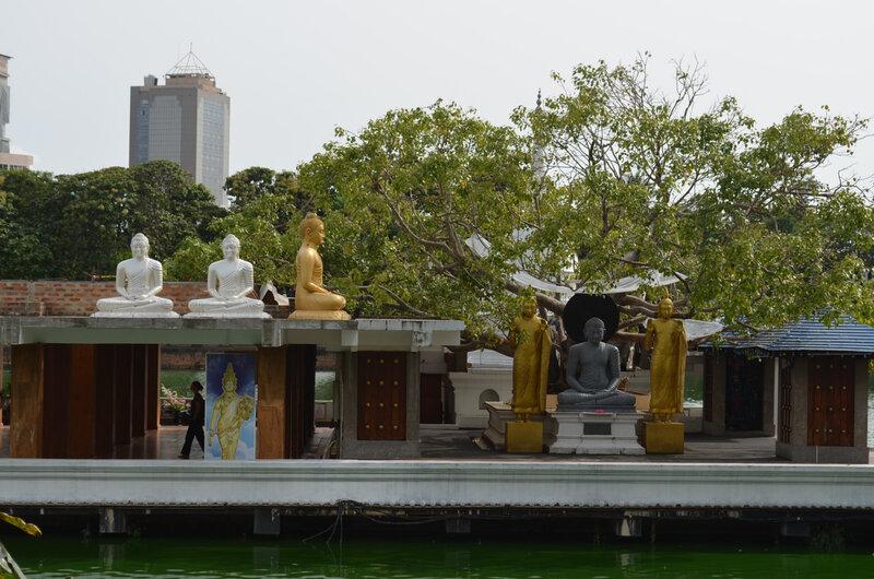 Le lac - Temple boudhiste 03