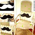 ¨°o.o coussin moustache / diy mustache cushion o.o°¨