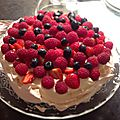 Pavlova aux fruits rouges ou fruits exotiques ?