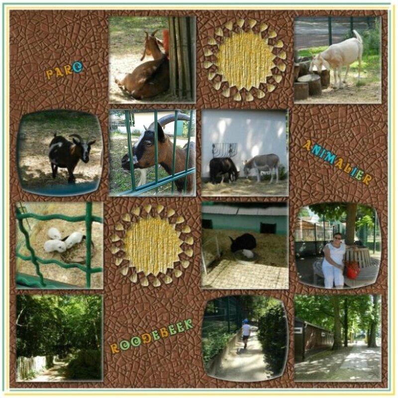 Defis Scrap'Avenue Mizaza - liberté jsq 31 08 2016 Au Parc animalier Roodebeek