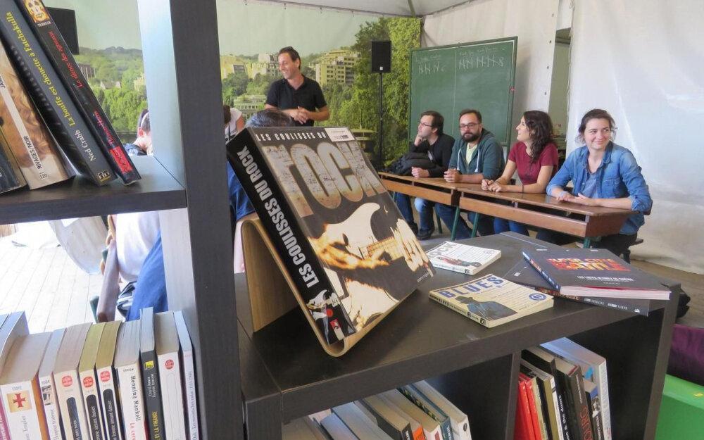 Saint-Cloud : la bibliothèque de Rock en Seine a ses fidèles