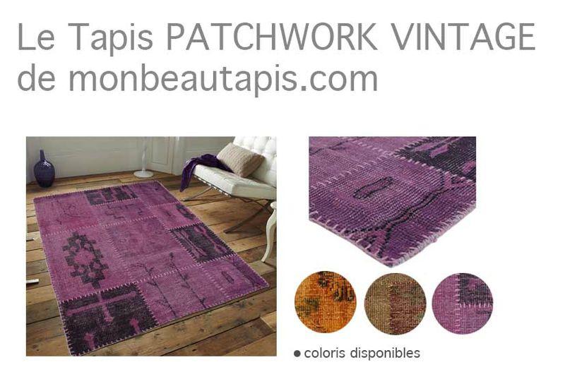 visiuel tapis patchwork mbt