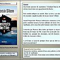 Viveca sten : les secrets de l'île