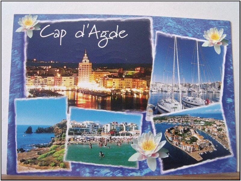 Cap d'Agde - datée 2000