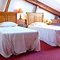 Gite le Paradis*** Pont en Royans Vercors - Gite 319101 - Ocre - Chambre 3 - 12M2