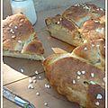 Brioche au sucre (et à la fleur d'oranger)