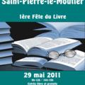 Jean-noël leblanc à la 1ère fête du livre de saint-pierre-le-moûtier