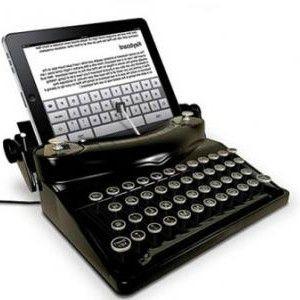 machine-a-ecrire-iPad-apple